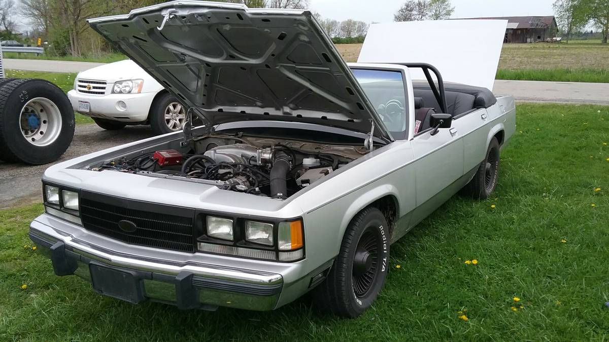 "The ""WTF?"" Files: This Five-Speed 1990 Ford Crown Victoria Convertible Is Ready To Party!"