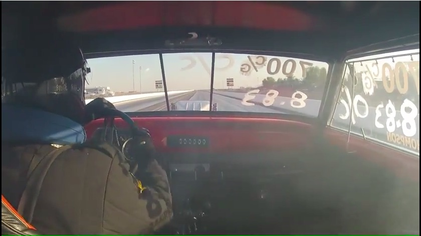 The American Powertrain Parting Shift: Ride Along In A Wheelie Pulling, Blown Small Block Powered, Lenco Equipped Nova!