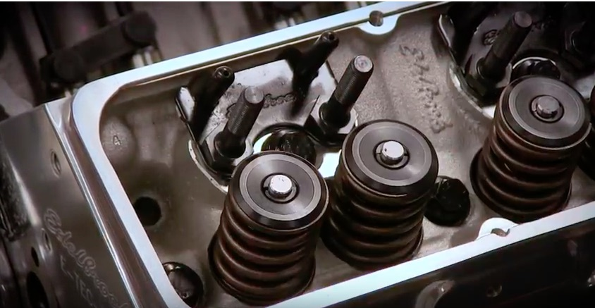 Edelbrock Tech Video: Here's How To Adjust The Pushrod Guide Plates On A Small Block Chevy Head