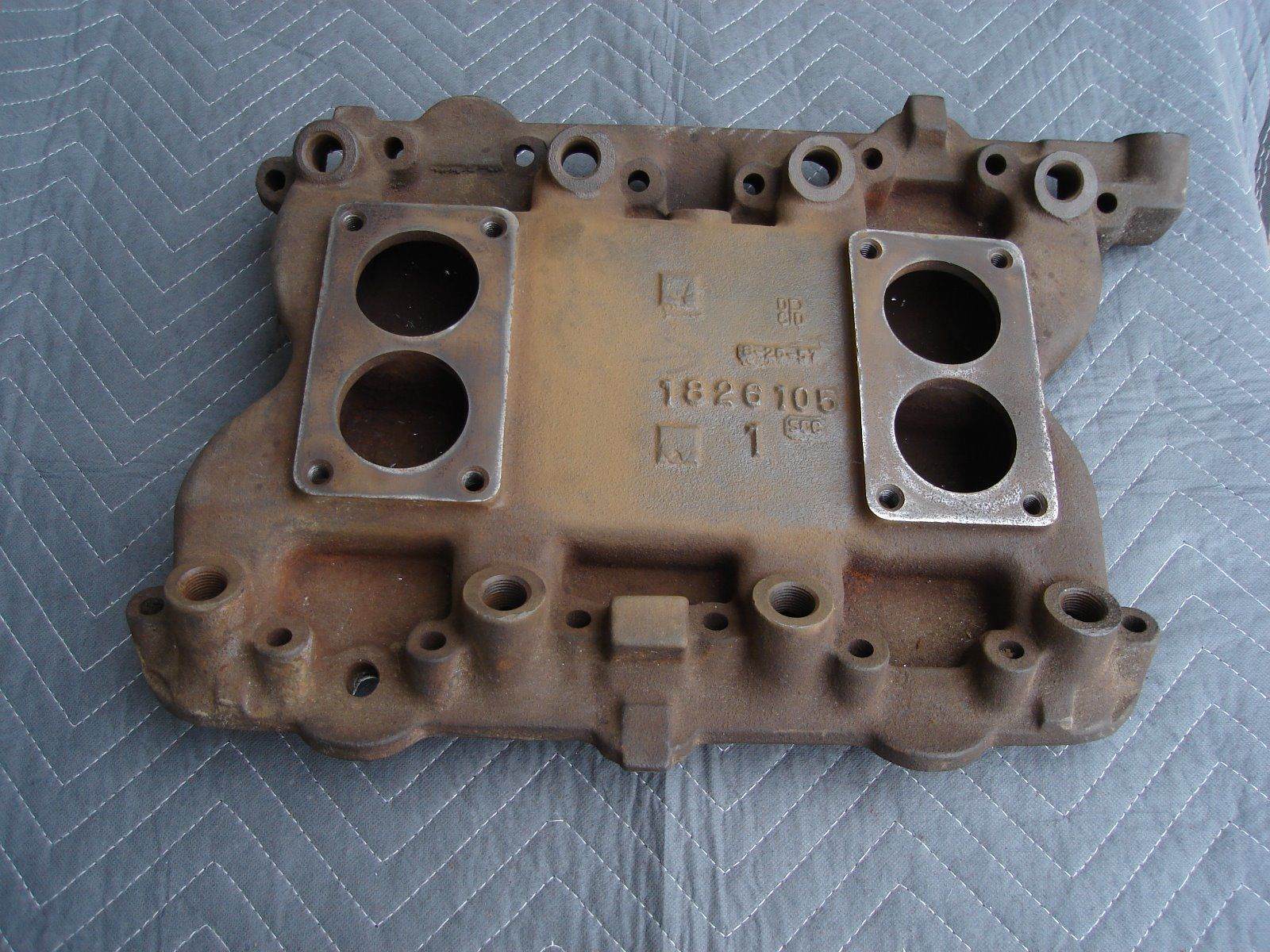 The Most Rare Factory Hemi Intake Manifold Ever Just Showed Up For Sale On eBay