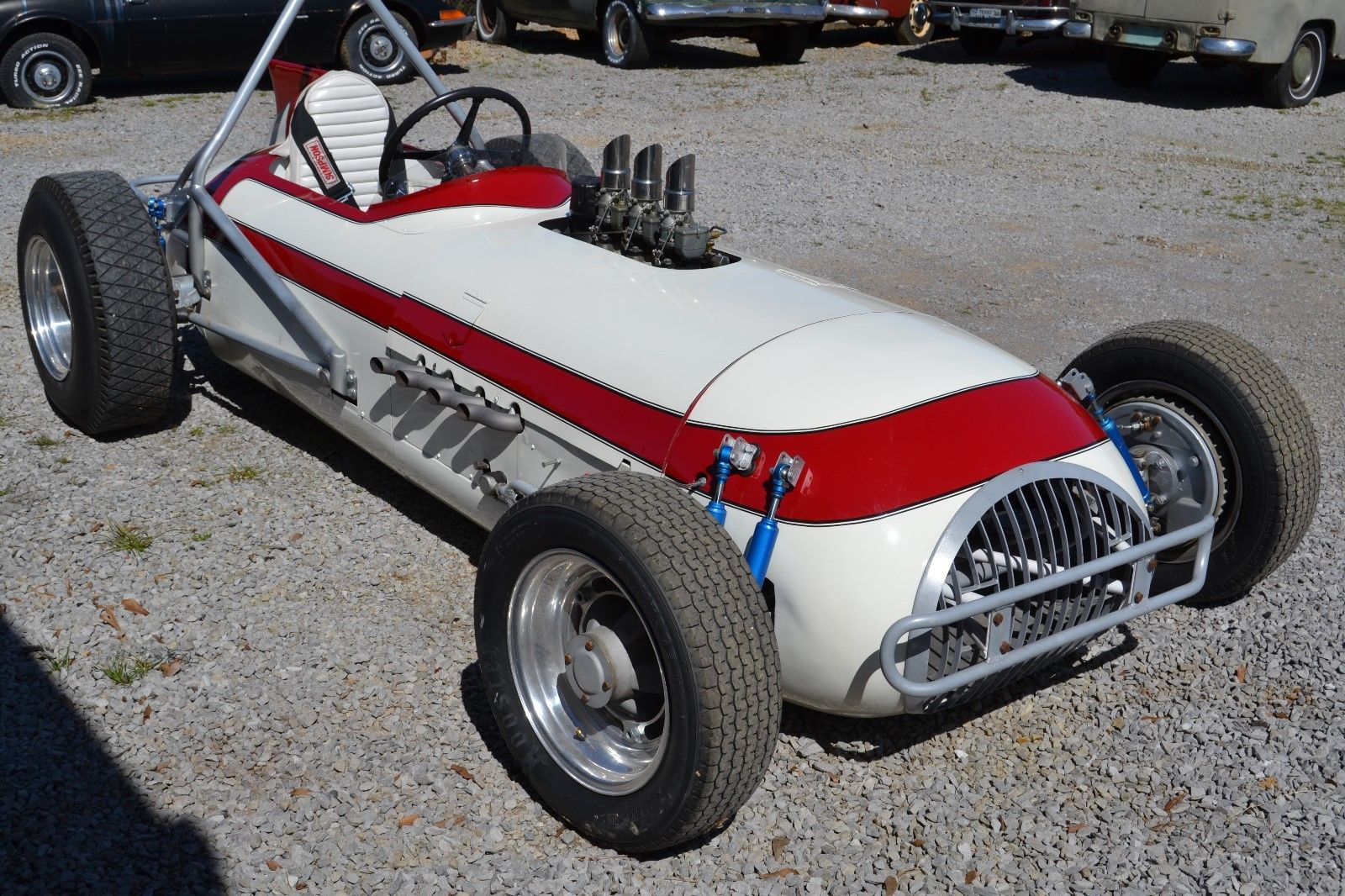 Looking For A Vintage Indy Car To Have Some Fun With? This 1950s Roadster Is Restored and Repowered
