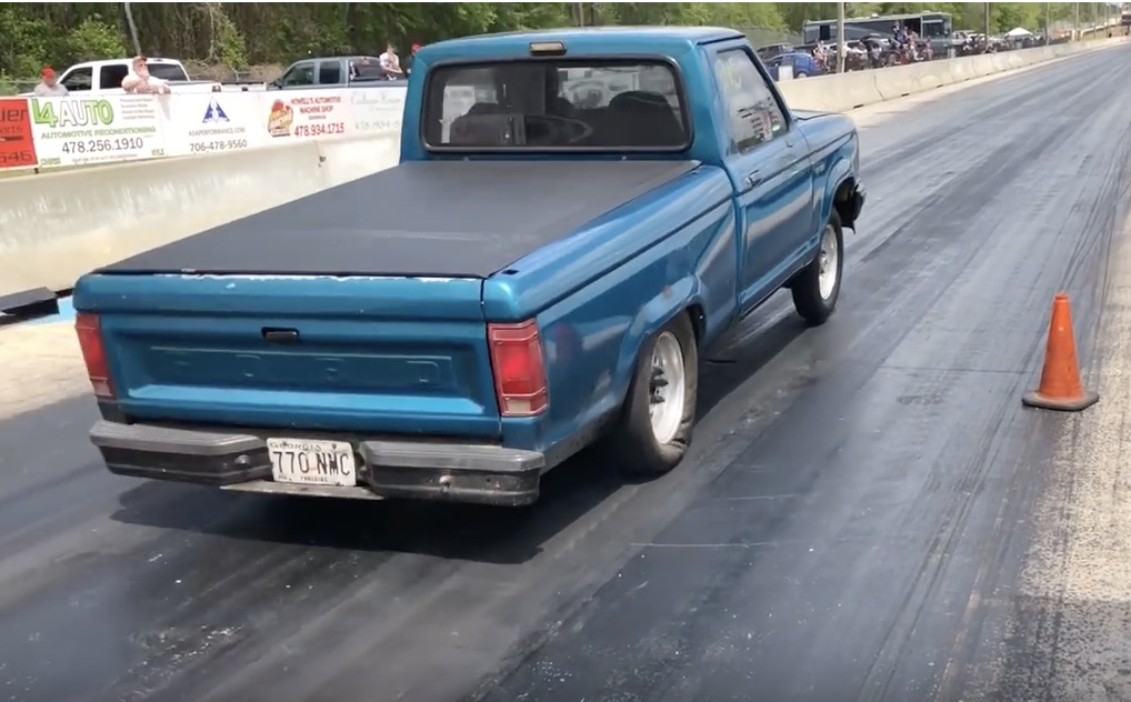 Teal Terror: This Ford Ranger Is Packed With Enough Spray To Scare A Pro!