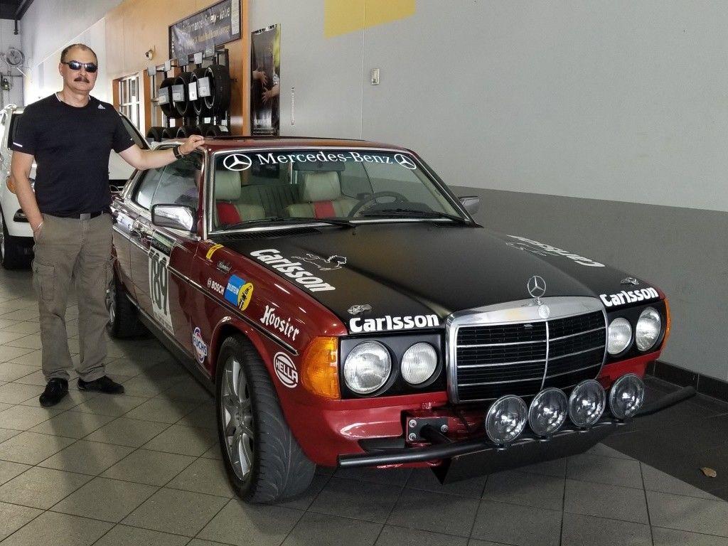 BangShift.com 1979 Mercedes Benz 280CE W123 Rally Car Carlsson
