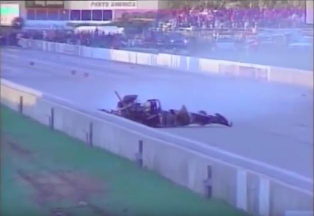 Air Dakin: Watch NHRA Top Fuel Racer Pat Dakin's Massive Blow Over From Topeka 1998