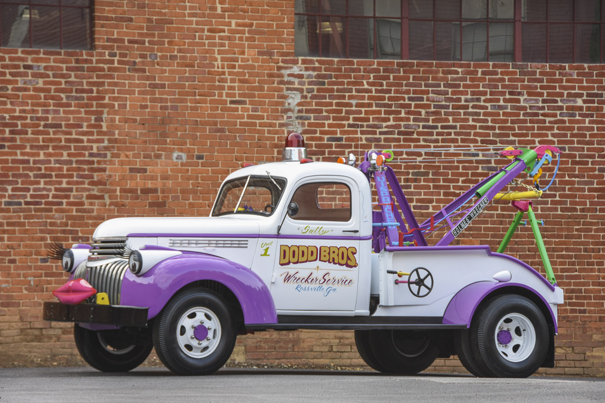 Truck Feature: Dodd Bros. Wrecker Service 1941 Chevrolet Lives A New Life INSIDE A Children's Hospital