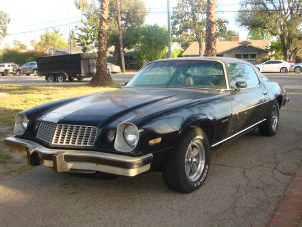 Rough Start: This 1976 Chevrolet Camaro Type LT Is A Value Speculator's Dream!