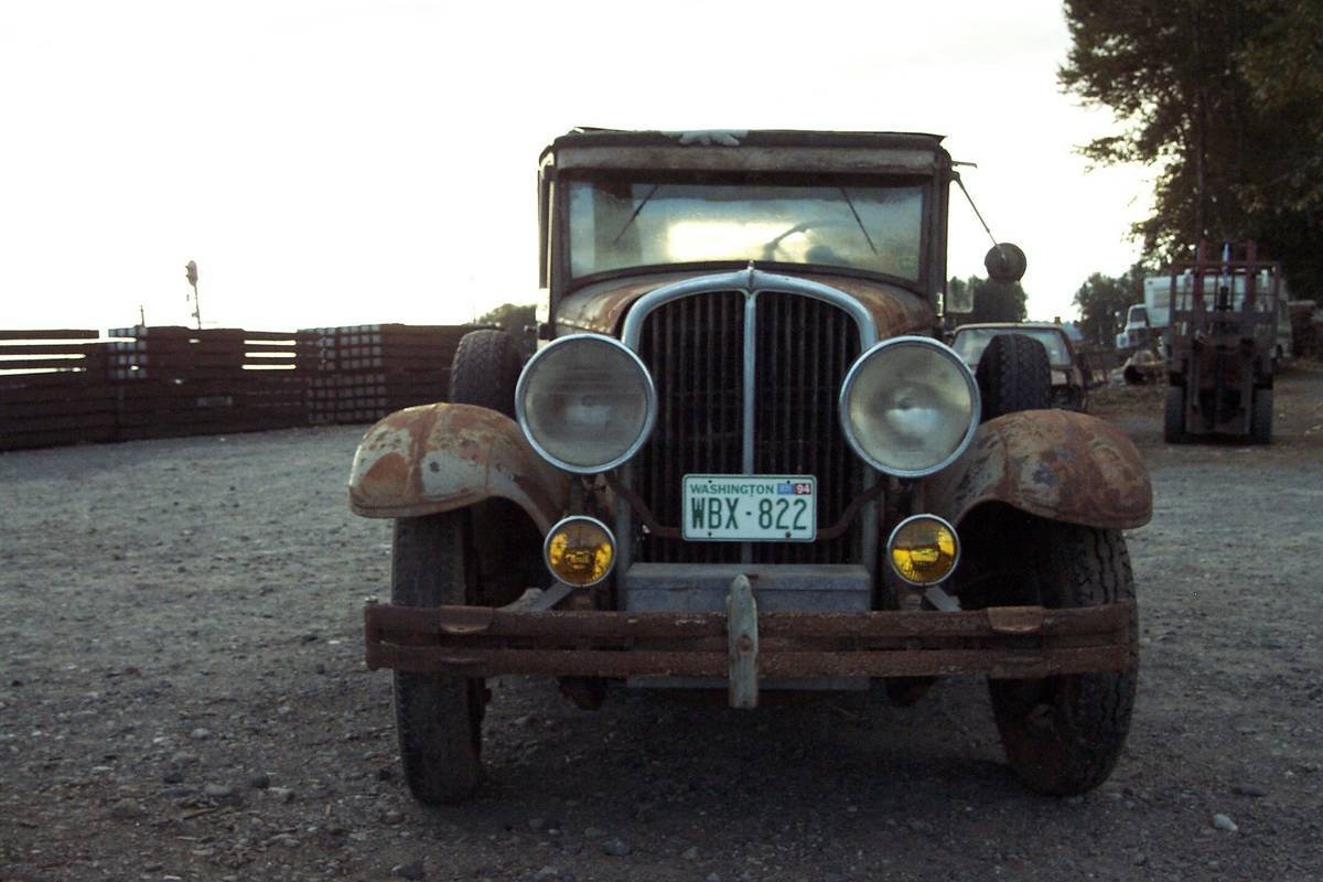 Rough Start: This 1930 Franklin Sedan Is For The Serious Adventure Type!