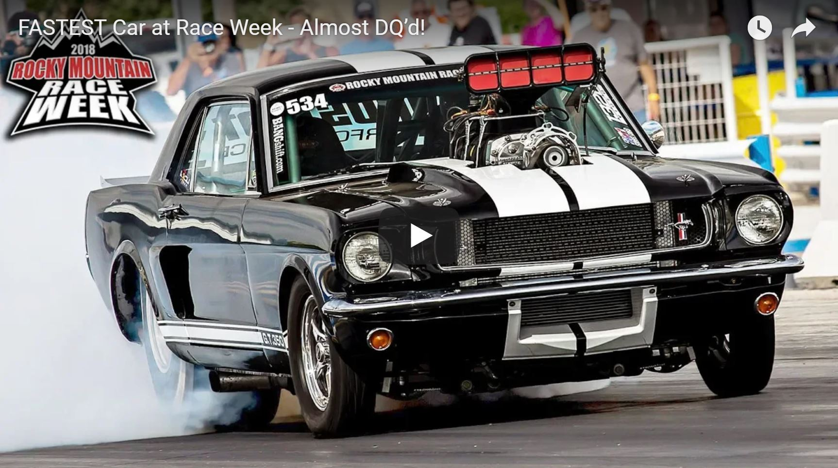 BangShift.com The Fastest Car At Race Week Was Almost DQ\'d! Watch ...