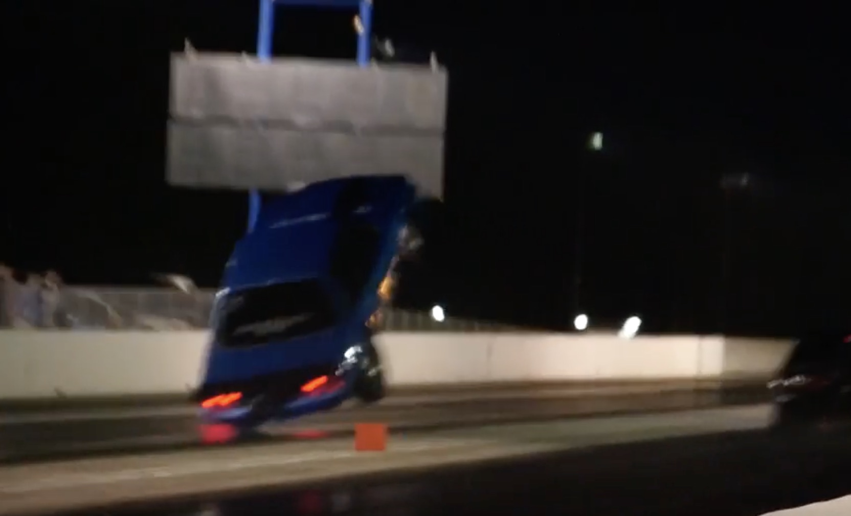 Lift, Man, Lift! Watch This Fox Body Fly At A Grudge Race In South Carolina!