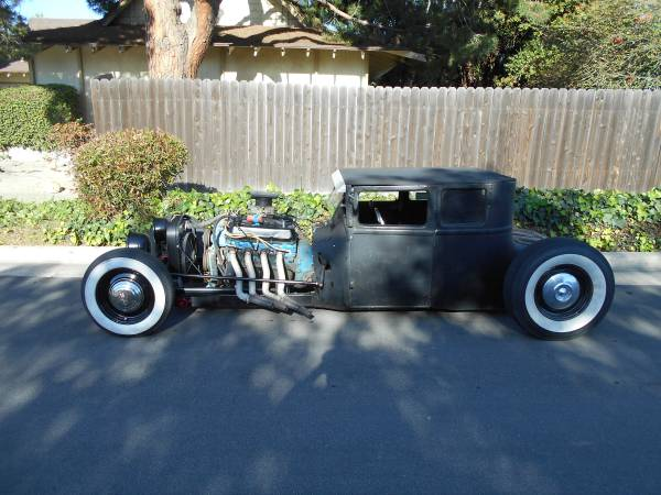 Are You Tougher Than An Old Man? If Not Skip This 1925 Ford Model T With A 460 and A 4-Speed! The Ad Says So