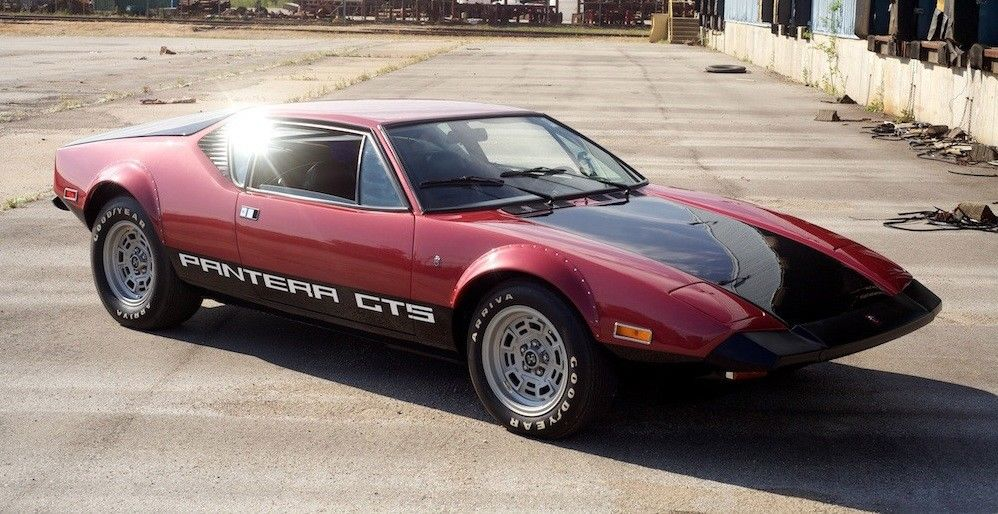 Money No Object: This 1973 De Tomaso Pantera GTS Is The Original Blue-Collar V8 Exotic!