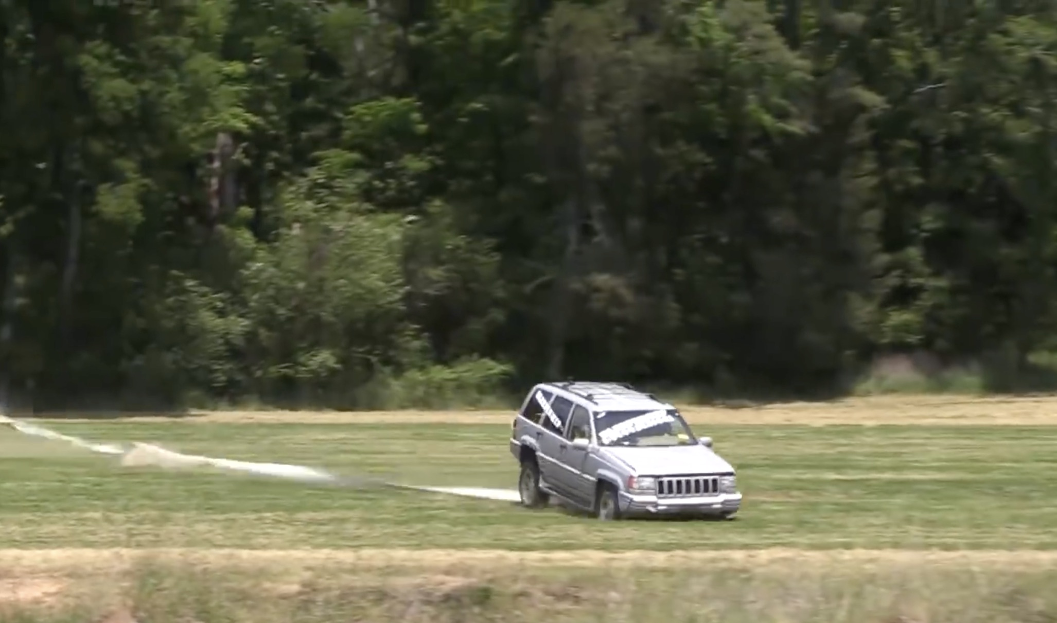 Brutality: Watch How Much Abuse A Jeep Grand Cherokee Can Take Before It  Dies