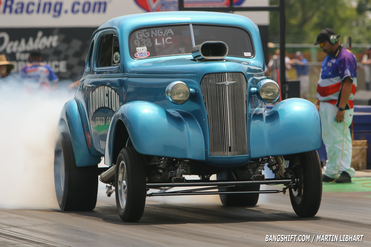Take A Look At All These Great Blue Suede Cruise Wheels Up Drag Racing Photos