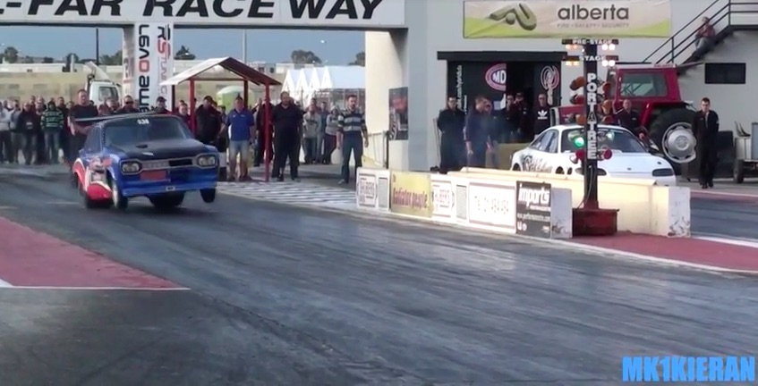 Screaming Mimis: Check Out The All Rotary Powered Video From Malta's Hal-Far Raceway