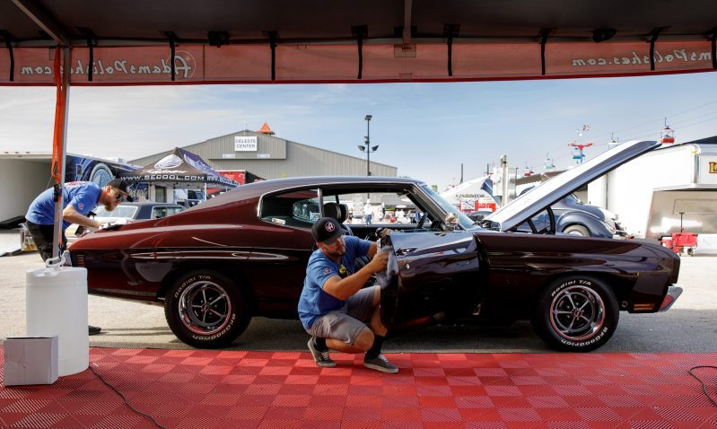 Bret And Andy Voelkel's Garage Built Happy Hot Rod Chevelle Is Done, Driven, And Cool As Hell.