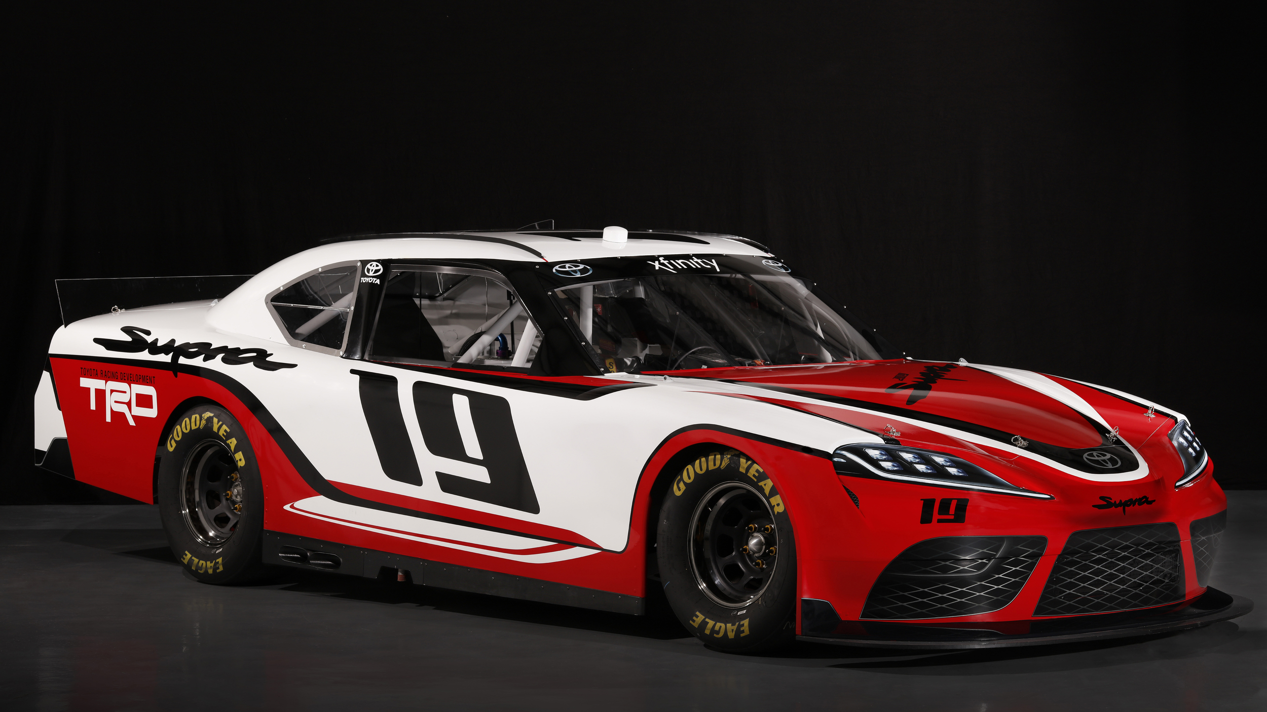 the new toyota supra is coming to nascar. Black Bedroom Furniture Sets. Home Design Ideas