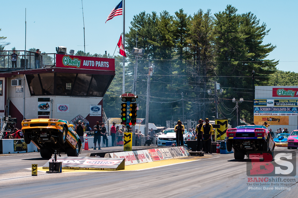 2018 NHRA New England Nationals Action Photo Coverage: Wheels Up And Hauling At The Old Track In Epping