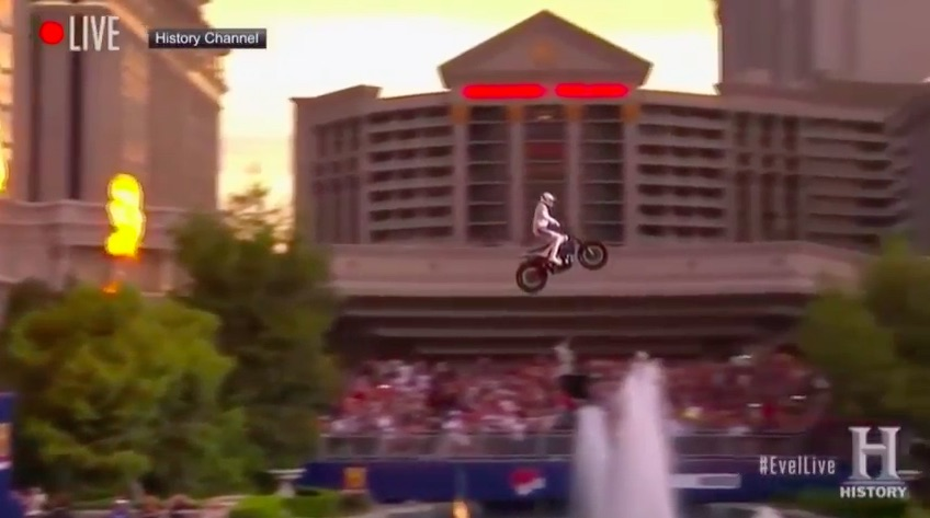 Watch All Three of Travis Pastrana's Las Vegas Jumps With Replays Right Here – He Did It!