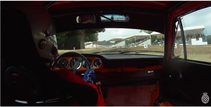 Watch Rich Tuthill Take This Paul Smith Designed Porsche 911 His Company Built On A Sideways Trip Up Goodwood