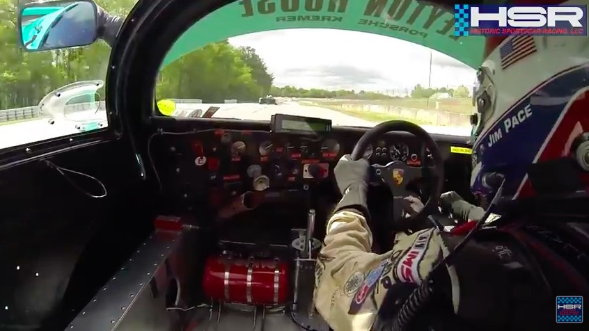 Ride Along Video: Jim Pace Hauls The Mail In A Porsche 962 At Road Atlanta!