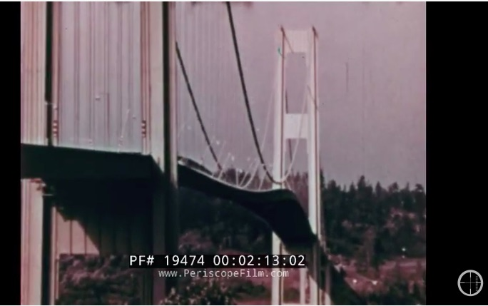 The Day The Bridge Fell Down: Amazing Footage From The Tacoma Narrows Bridge – An Engineering Failure For The Ages