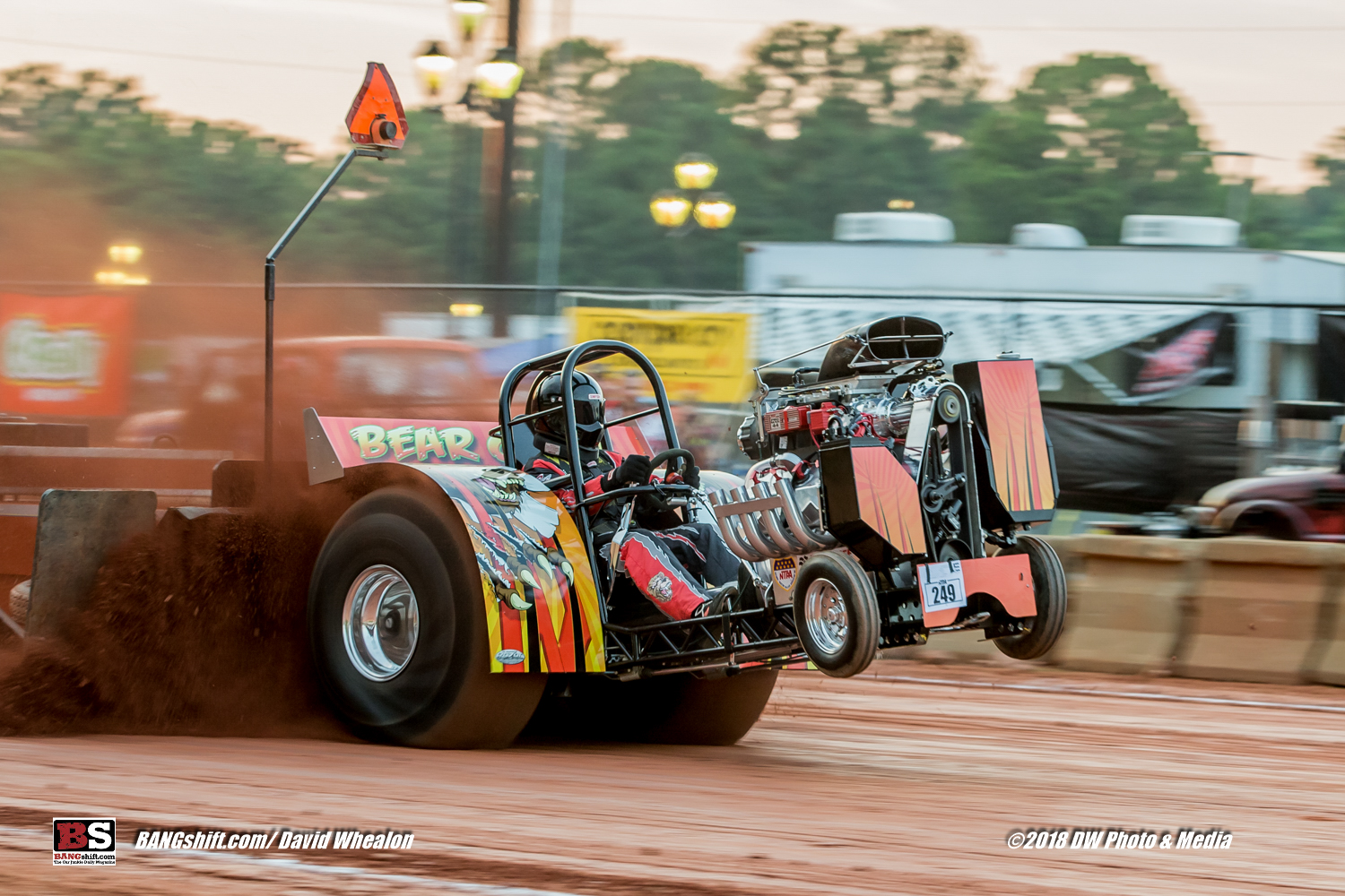 Tractor Pulling Action Gallery: United Pullers of The Carolinas Got After It At The NC State Fairgrounds