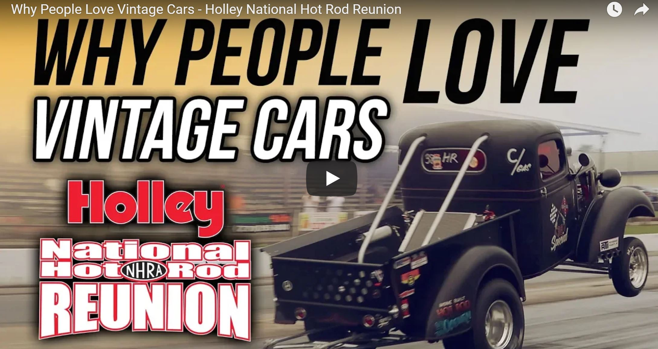 Here's Why People At The Hot Rod Reunion Love Vintage Cars