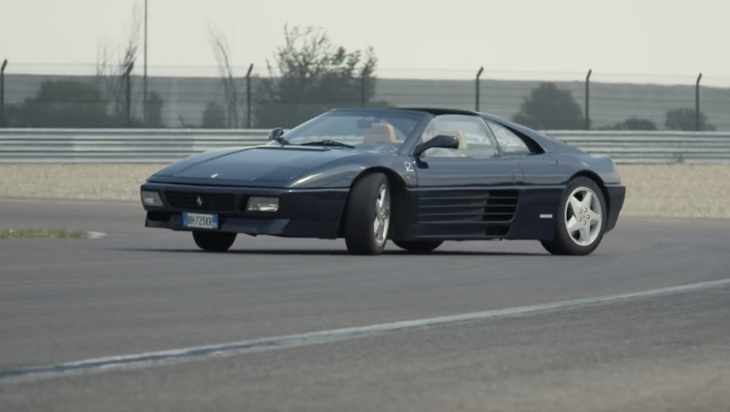 Taking The Challenge: Get A POV View Of Throwing A Ferrari 348 Challenge Around A Track!