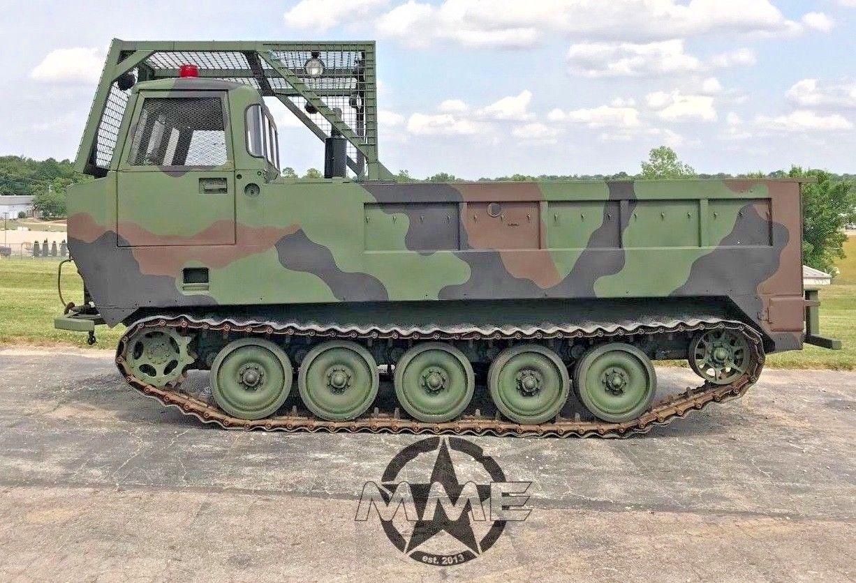 BangShift com This M548A1 Tracked Amphibious Vehicle Detroit