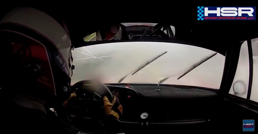 Flyin Blind: Watch Jim Pace Haul Around Spa In Driving Rain Looking Through A Broken Opaque Windshield
