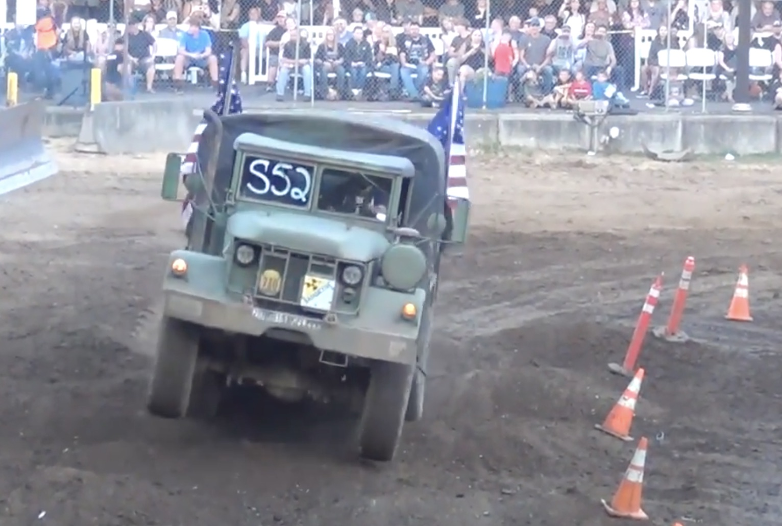 The Motorpool Mutt: Putting A Deuce And A Half On A Tough-Truck Course Was A Great Idea!