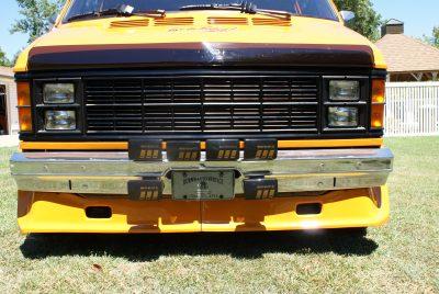 Bangshift Com 45 Hours Coast To Coast In A Custom Dodge Van This