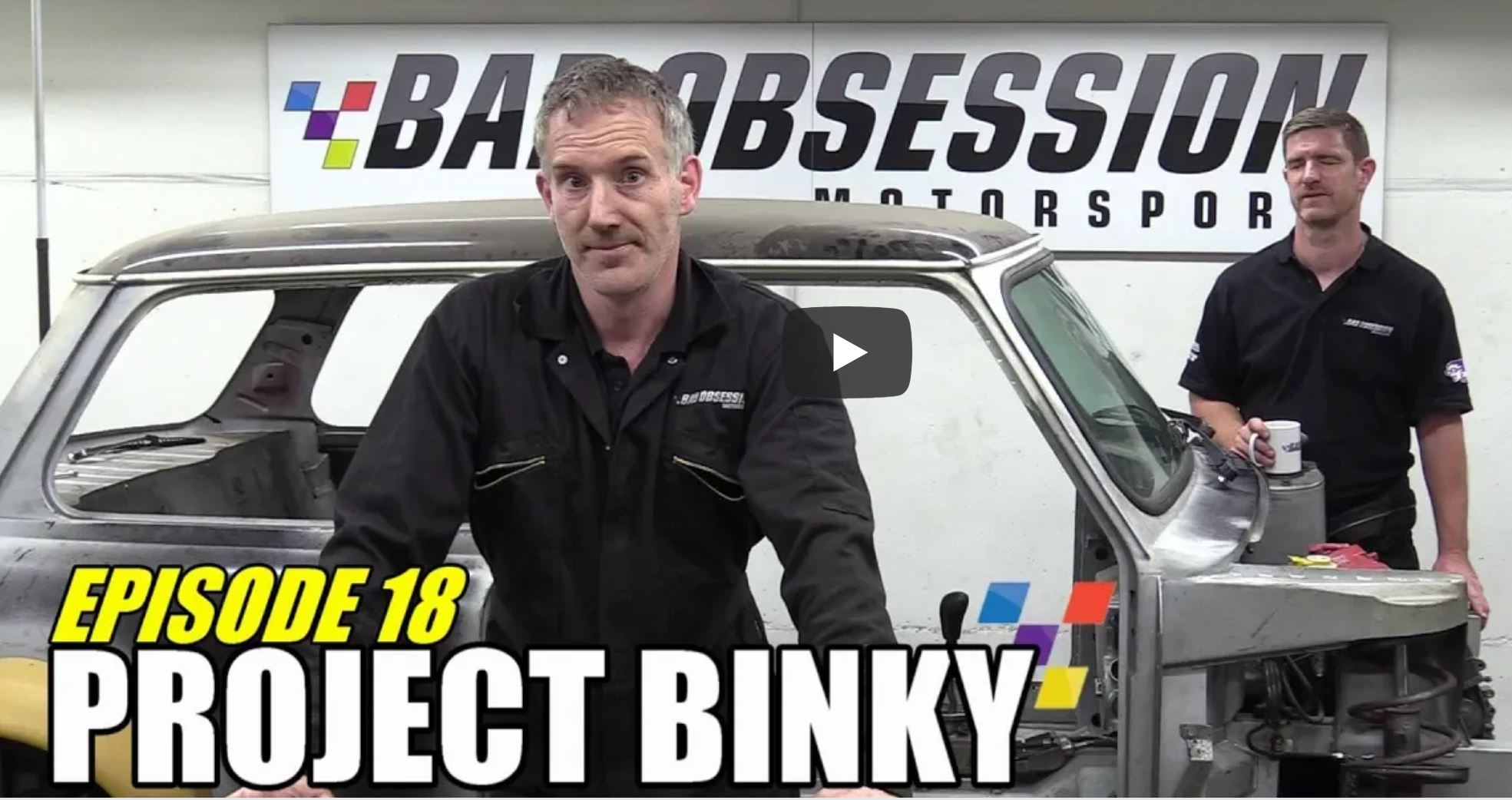 Project Binky Is Back! Episode 18 Of The All Wheel Drive Classic Mini Build Is Here
