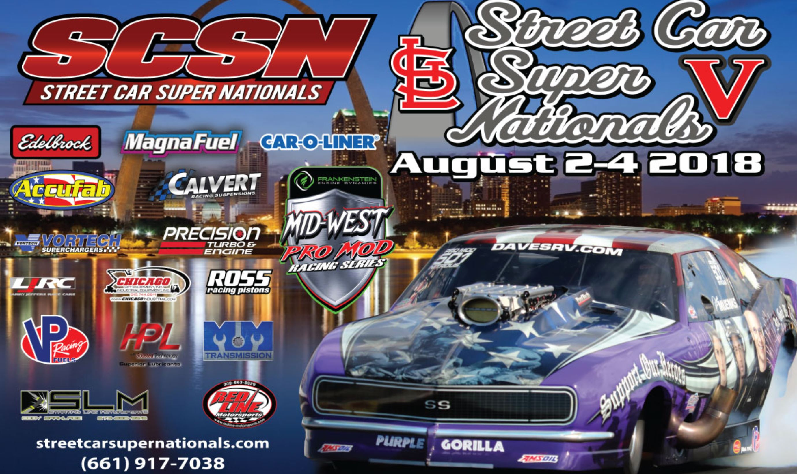 LIVE: Street Car Super Nationals – St. Louis Anarchy Under The Arch Continues Saturday Morning