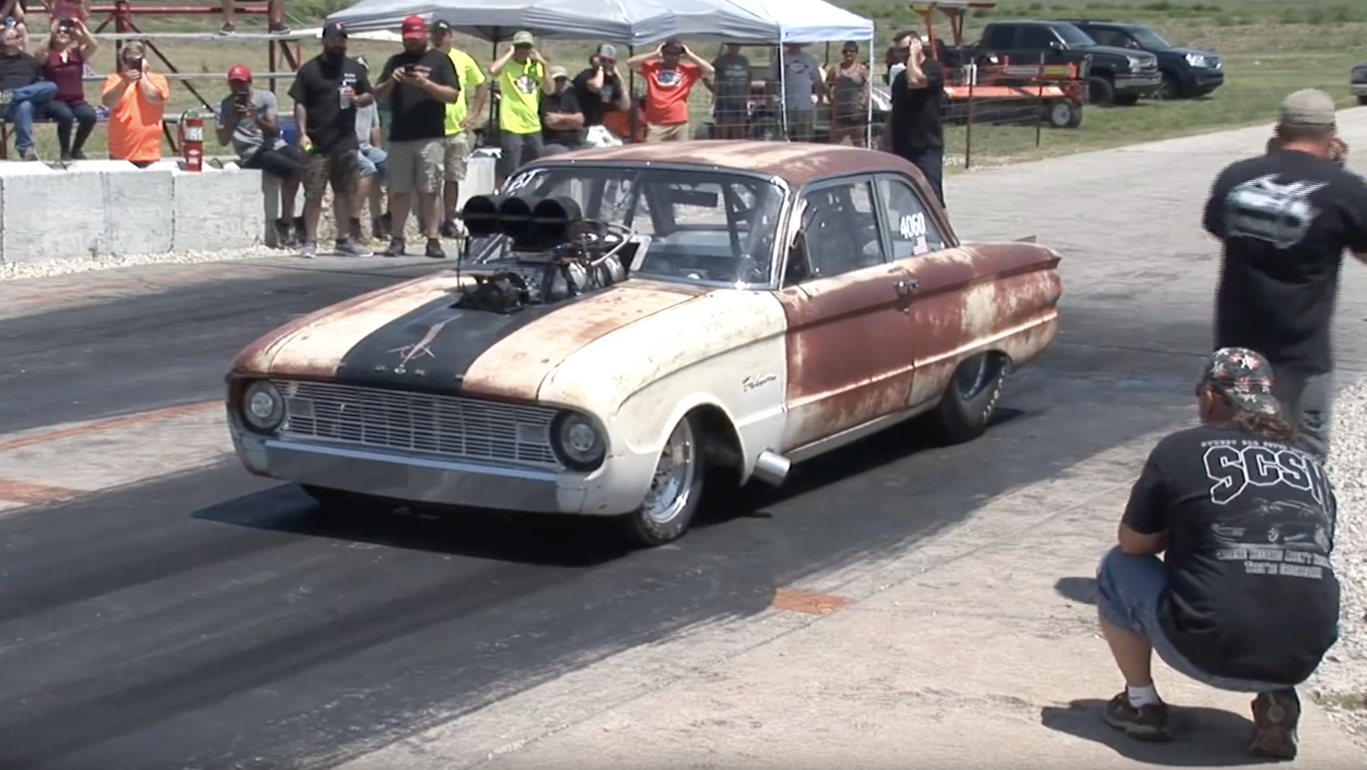 Fully Legal And Fully Wild: The Coffeyville Street Drags Still Hits Hard And Is Still On Public Roads!