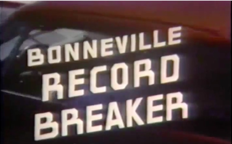 Bonneville Record Breaker: This 1963 Film Shows Andy Granatelli Hauling On The Salt