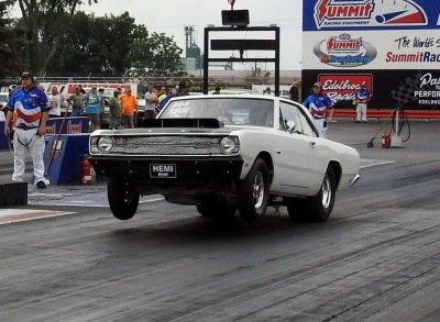 Hustling Hemi: This 1969 Dart Has 540ci Of Mean Chrysler Elephant Under The Hood