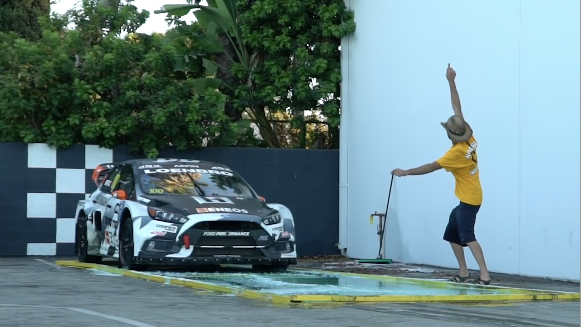 Will It Grip? The Hoonigans Try To Launch A Rally Car On A Ton Of Dish Soap!
