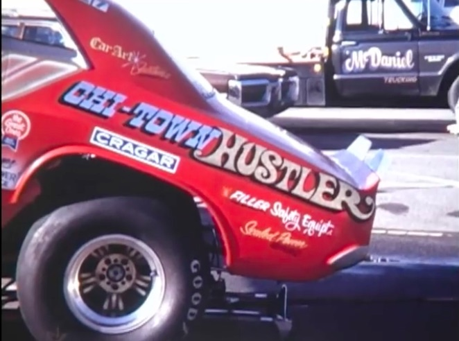 This Awesome Video From The 1972 NHRA SuperNationals Highlights The Sport's First 5 and Jim Dunn's Rear Engine FC Win!