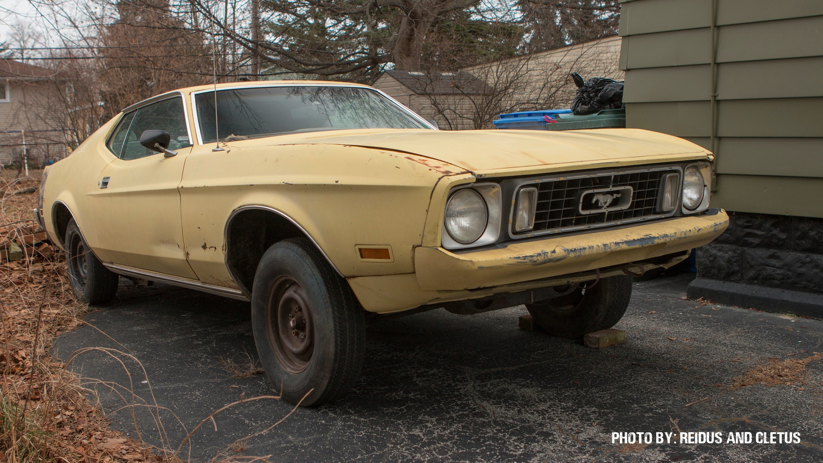 The Mach 12: Check Out How This 1973 Ford Mustang Is Being Turned Into One Man's Vision Of A Sports Car!