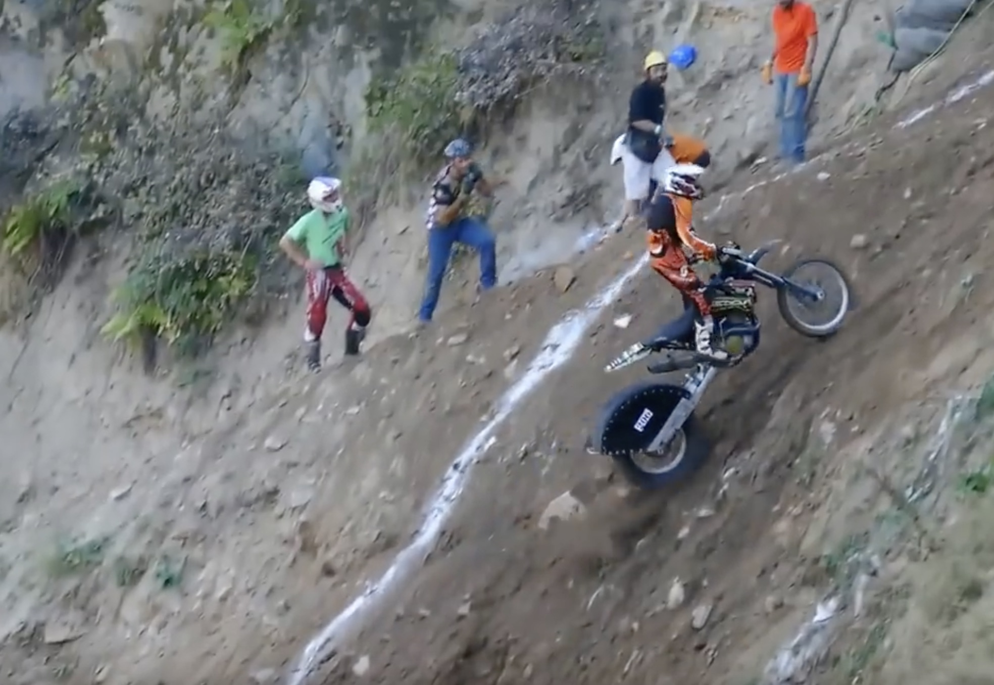 Classic YouTube: The Impossible Motorcycle Hill Climb From Muhlbach-sur-Munster In France