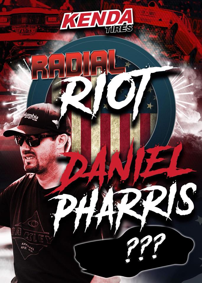 Daniel Pharris Is Going Down Under To Race In The Kenda Tires 660 Drag Radial Series' Radial Riot Event!