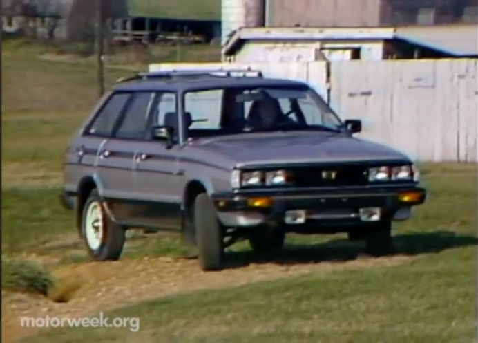 The 1983 Subaru Turbo Traction Wagon Was Kind Of A Dinosaur, Slow, WRX…Or Not