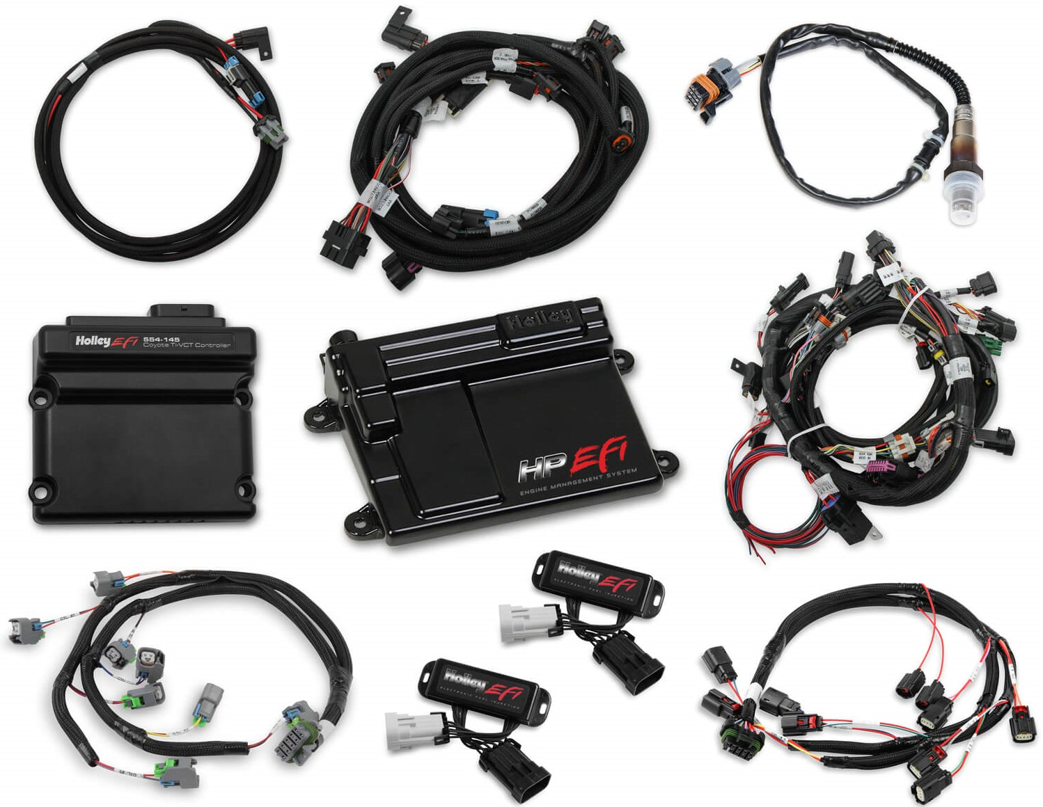 Independent Twin Cam Timing Control For Coyotes Is Now Available From Holley EFI