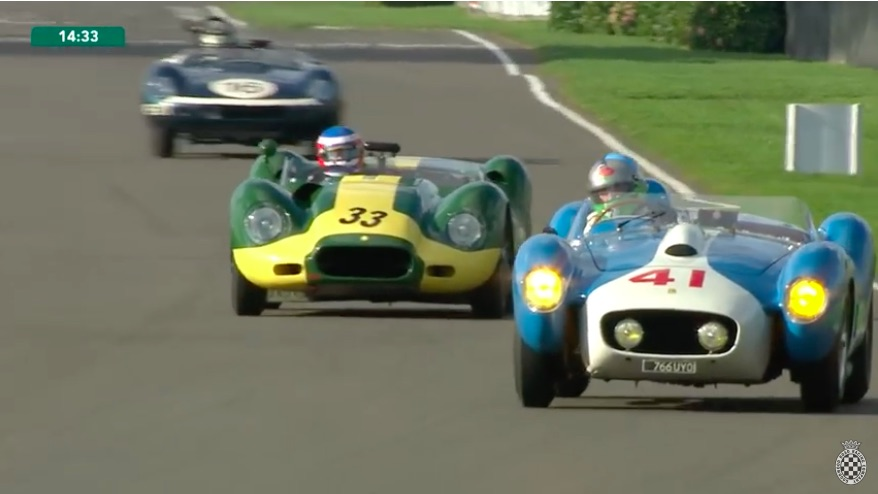 Like A Man Possessed: Watch Phil Keen Take A Lister Jag From Last To First At Goodwood!