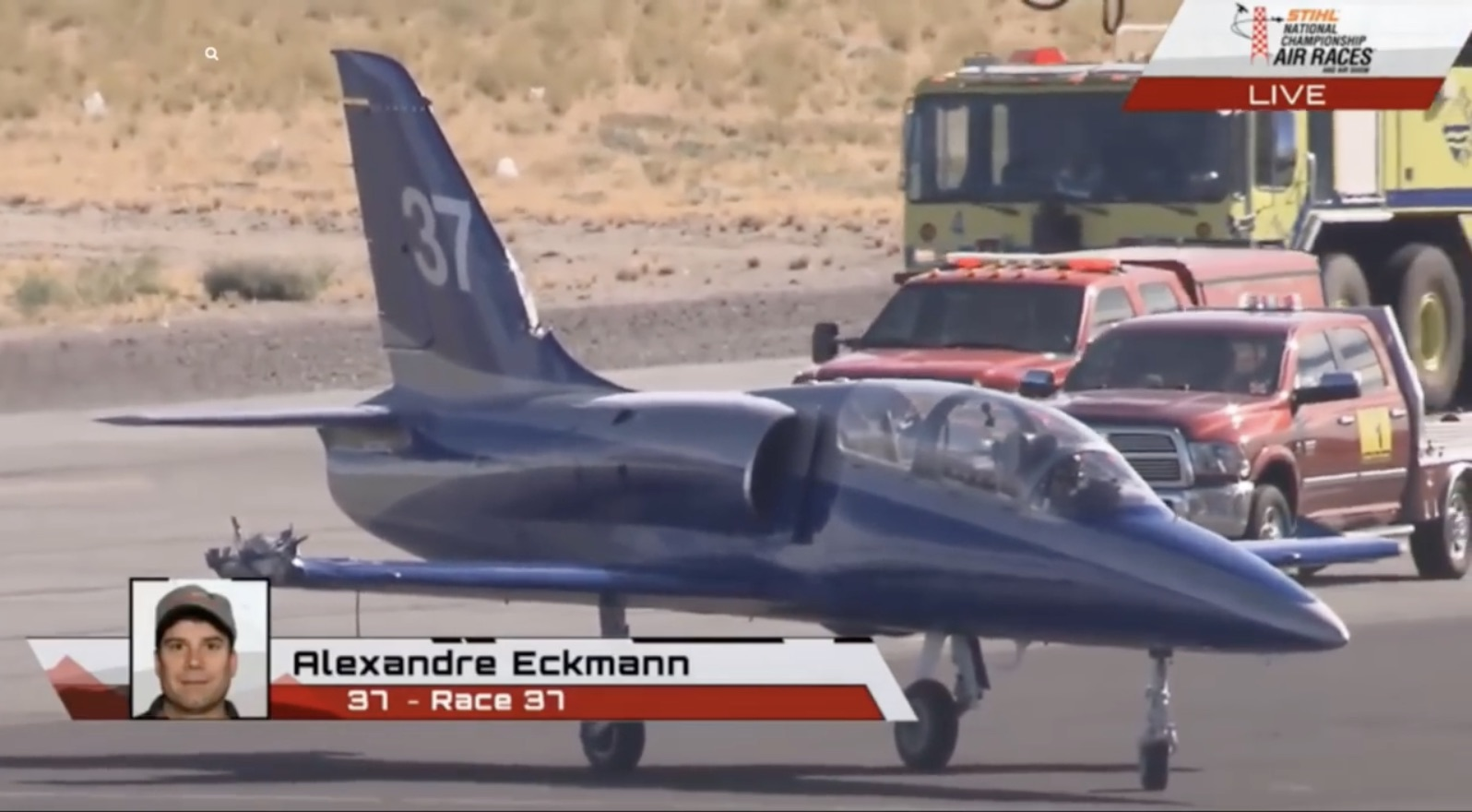 The Ultimate Pucker Moment: The Eckmann/Harnagel Mid-Air Incident At The Reno Air Races