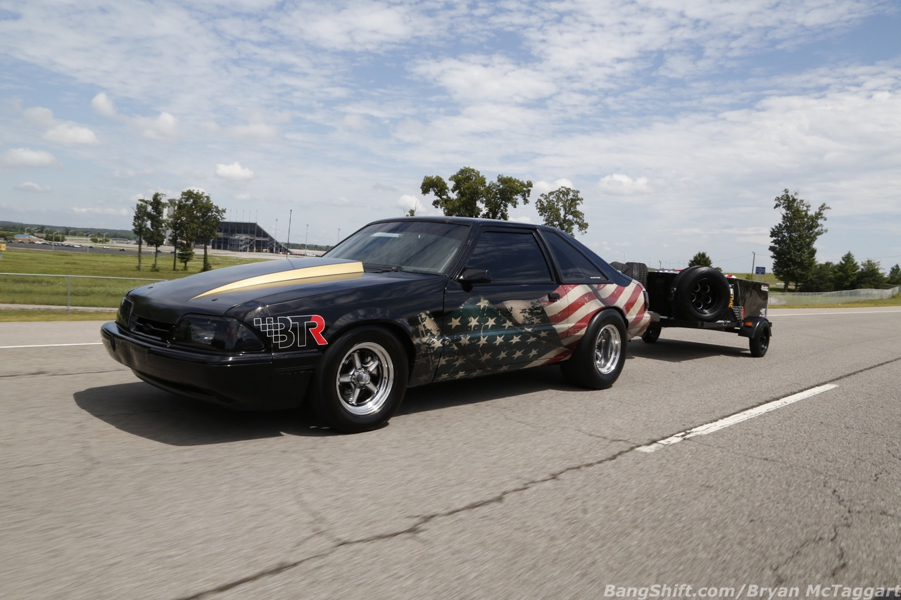 The Boost Of Burden: James Rowlett's Fox Body Mustang Is Ready To Come Out Swinging At Drag Week!