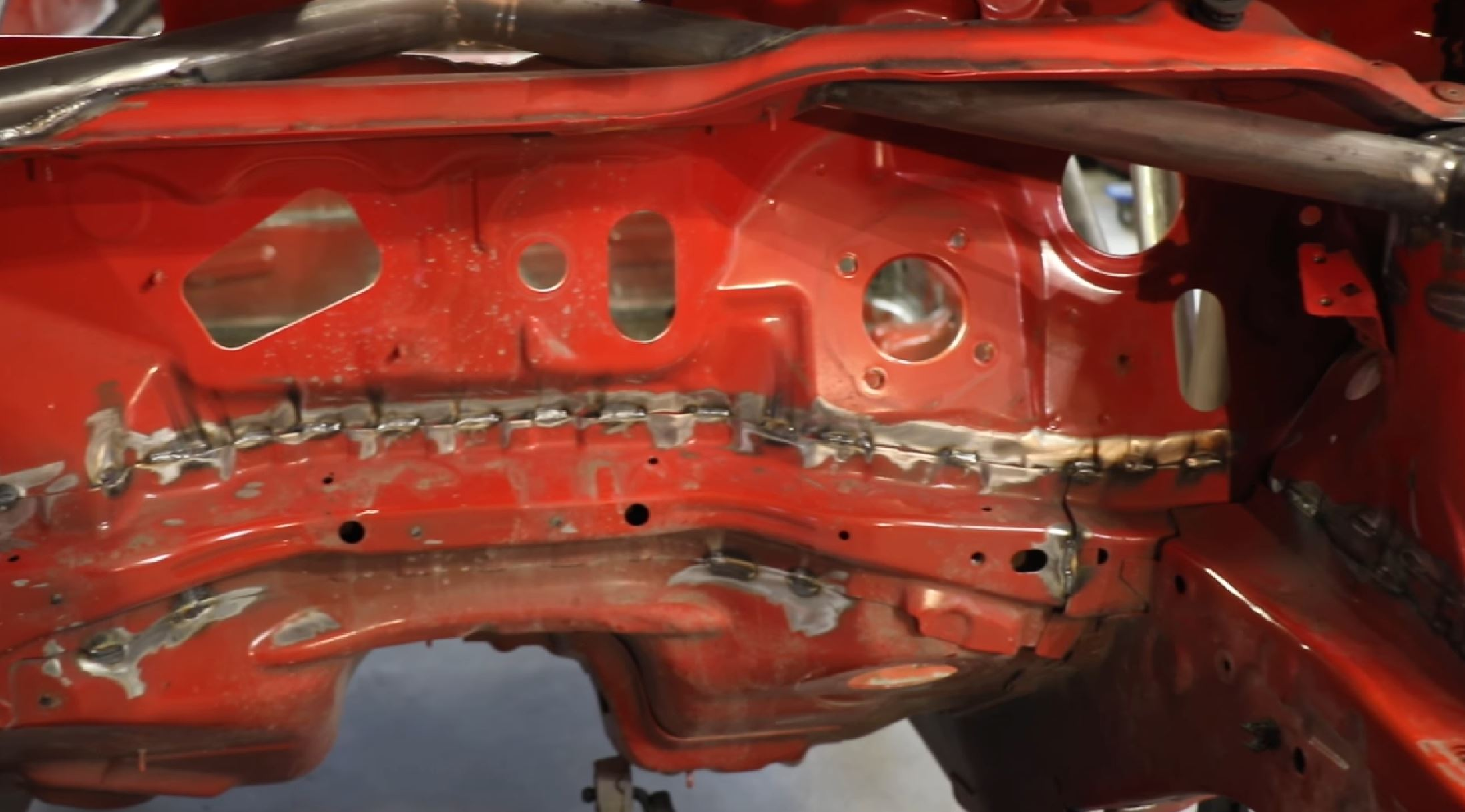 It's Not Just The Cage: How Seam Welding A Unibody Car Can Significantly Strengthen The Entire Chassis