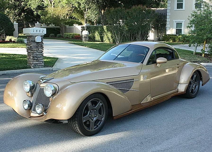 """The """"WTF?!"""" Files: Part Corvette, Part Audi, Part Art Deco, All Confusing…The Corvette Bella Elan!"""