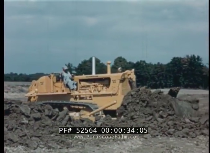 This 1950s Caterpillar Video Introduces The H-Series D8 Bulldozer – So Cool!